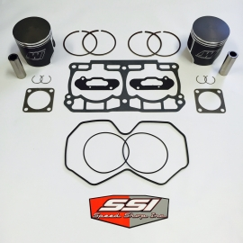 800R DUAL RING PISTON KIT WITH GASKETS AND ORINGS