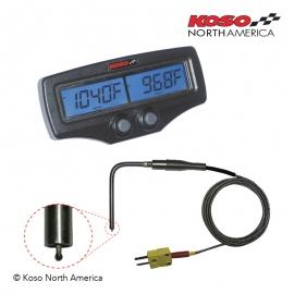 KOSO Dual EGT Gauge - Fast Sensors