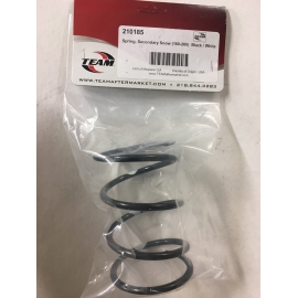 SECONDARY CLUTCH SPRING 160-260 BLACK/WHITE, SNOW