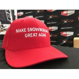 MAKE SNOWMOBILING GREAT AGAIN HAT