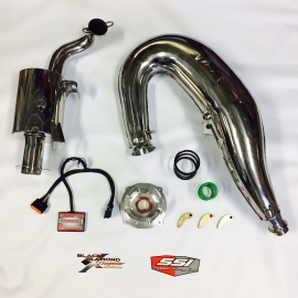 STAGE 2 AXYS 800 MOUNTAIN PERFORMER KIT, STAINLESS STEEL