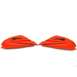 ARCTIC CAT HAND GUARDS - ORANGE