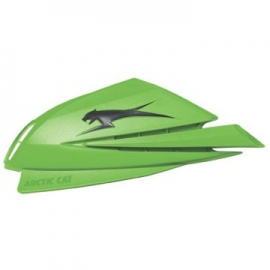 ARCTIC CAT HAND GUARDS - GREEN