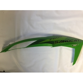 ARCTIC CAT UPPER HOOD SECTION GREEN RH