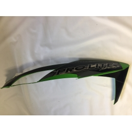 USED ARCTIC CAT UPPER HOOD SECTION GREEN RH