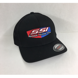 SSI FLEX FIT GREY with GREY MESH BACK HAT