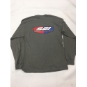 BDX/SSI LONG SLEEVE T-SHIRTS GREY