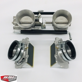 55mm THROTTLE BODIES AND LARGE INTAKE BOYESEN REEDS