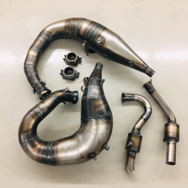 JAWS TWIN CUSTOM RACE PIPES  ARCTIC CAT CTEC2
