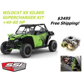 SILBER SUPERCHARGER KIT FOR WILDCAT XX / TRACKER XTR1000