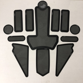 2012-2017 COMPLETE 13 pc FROGZSKIN HOOD KIT
