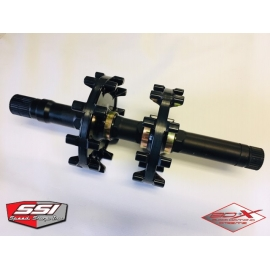 ALUMINUM TRACKSHAFT WITH DRIVERS ARCTIC CAT / YAMAHA