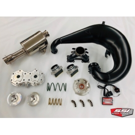 CTEC2 800 STAGE 1 KIT WITH JAWS PIPE AND SSI MUFFLER    LOW ELEVATION