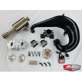 AC 800 STAGE 1 KIT WITH JAWS PIPE AND SSI MUFFLER 2012-2017 HIGH ELEVATION