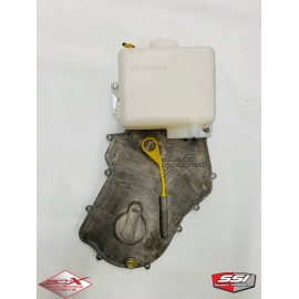 LIGHTWEIGHT CHAINCASE COVER (SHORT) WITH OIL TANK FOR CTEC