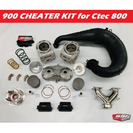 900 CTEC BIG BORE FULL CHEATER KIT