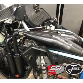 JAWS TWIN PIPES FOR POLARIS 850 / 909