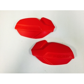 POLARIS HAND GUARDS - RED