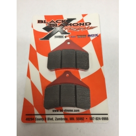 BRAKE PADS FOR CERAMIC BRAKE ROTOR-DIAMOND DRIVE