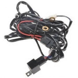 LED WIRING KIT WITH RELAY AND SWITCH