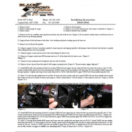 20060/20061 LIGHT WEIGHT FRONT END INSTRUCTIONS