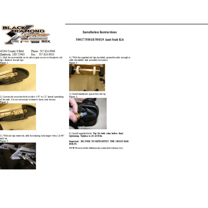 Anti Stab Kit install ?? - SnoWest Snowmobile Forum