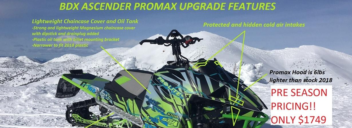 2018 Promax Ascender Kit