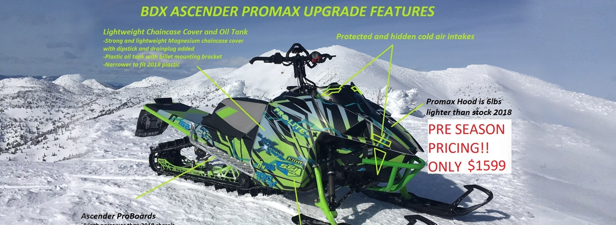 2018 Promax Ascender Kit
